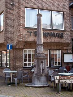 Drinking fountain, Torhout.
