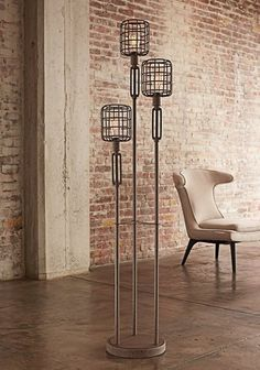 functional art!, industrial floor lamp, industrial lamp, industrial floor lamps, industrial style floor lamps, vintage industrial floor lamp, if you love the rustic industrial warehouse look, then you will love these unique totally different looking floor lamps, that are modern and yet old world, you can even get the Edison style bulbs to make it more authentic.