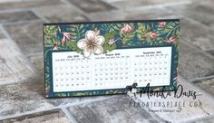 Stamping Together At Monika's Place - Page 4 of 575 - Sharing My Creativity with You Desktop Calendars, Stamping, Creativity, Paper Crafts, Ideas, Hay, Tissue Paper Crafts, Paper Craft Work, Stamps