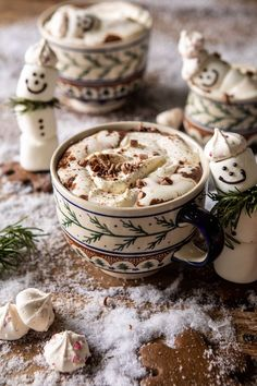 Cup Door hanger Christmas Hot chocolate and marshmallows Drink up Grinches