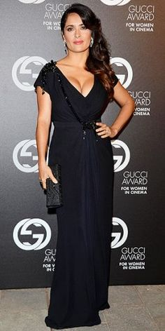 Salma Hayek in Gucci at the 2nd Annual Gucci Awards For Women in Cinema | Fashion Wrap Up