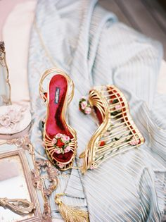 D&G wedges: http://www.stylemepretty.com/2015/06/16/wedding-day-shoes-worth-showing-off/