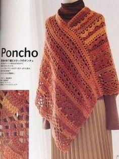 ✿✿Mila Artes Manuales✿✿: PONCHO PARA MI AMIGA ELBIA