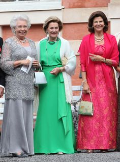 Royals at a wedding
