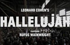 <em>Hallelujah</em>, cultissime chanson de Leonard Cohen, a été reprise par le chanteur Rufus Wainwright accompagné d'une chorale de 1500 personnes. Attention émotion.