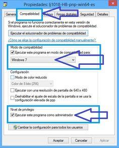 Instalar en Windows 8 laserjet
