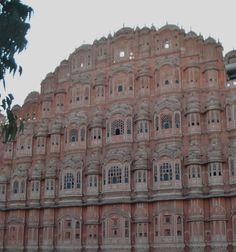 Jaipur - Rajastão - Índia Hawa Mahal (Palácio Rosa)