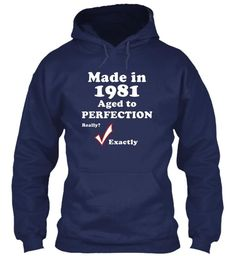 1981 Age Really Perfection T-Shirt