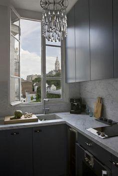 Little gray kitchen