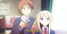 Sakurasou no Pet na Kanojo - Shiina and Sorata XD