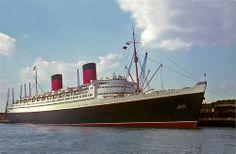 RMS Queen Elizabeth #CruiseShip