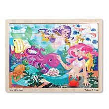 Melissa & Doug - Mermaid Fantasea Jigsaw Puzzle 48pc