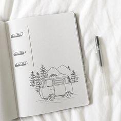 Journal Art - Fushion News Bullet Journal Junkies, Bullet Journal Spread, Bullet Journal Layout, Bullet Journal Inspiration, Journal Pages, Journal Art, Journal Template, Travel Scrapbook, Travel Journals