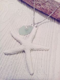 white starfish necklace