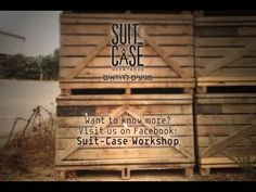 Suit Case Workshop studio - up-cycle raw materials