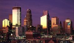 """Check out our newest""""Divisional"""" edition of The Traveler as we explore the city of Minneapolis. Minneapolis Skyline, Minneapolis St Paul, Seattle Skyline, Minneapolis Minnesota, Places Ive Been, Places To Go, Take Me Home, Best Cities, City Lights"""