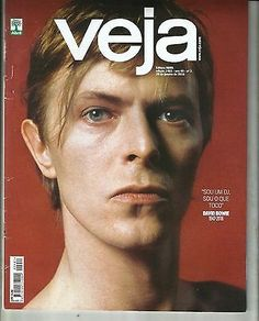 David Bowie  - On  'Veja' Brazilian Magazine/ January 2016/ Issue 2461 Red Cover