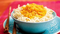 Linssi-porkkanakastike ja nuudelit - K-ruoka