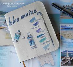 Le temps de la broderie: Тюбики с морскими красками