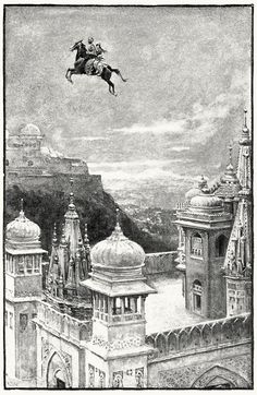 Walter Paget illustration for The Arabian Nights, 1907.