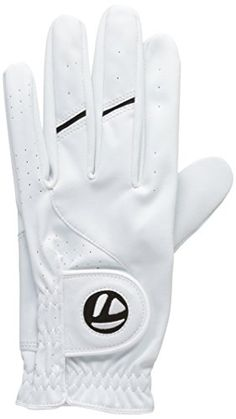 UK Golf Gear - Taylormade All Weather Golf Glove (Mens Left Hand), White, Size: Large
