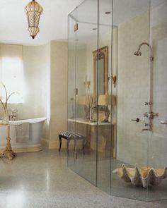LOVE this!!!!  Want this shower.  Bathroom-Coastal-Design