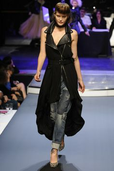 Jean Paul Gaultier RTW Spring 2014, #7 / Lose the jeans, obviously, and we'll talk.
