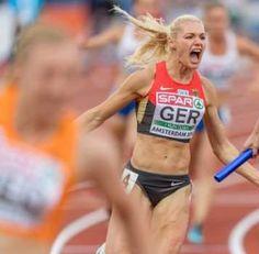Lisa Mayer, Atletismo da Alemanha - Foto: Reprodução