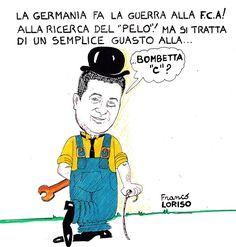 https://ondalucana.wordpress.com/2016/10/28/franco-loriso/ Scoprite le vignette del nostro Franco Loriso su:Onda Lucana Press e https://www.facebook.com/Via-Pretoria-Settimanale-di-sati…/…