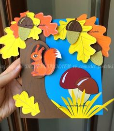 ДЕТСКИЕ ПОДЕЛКИ Fall Crafts For Toddlers, Holiday Crafts For Kids, Autumn Crafts, Toddler Crafts, November Crafts, Sensory Activities Toddlers, Felt Quiet Books, Craft Work, Paper Flowers