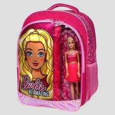 "Barbie® 16"" Backpack with Barbie Doll"