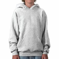 Customize Your Own Hooded Pullover. Available in various sizes.