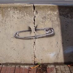 One of my favorite works of Street Art - so clever! ~~ Houston Foodlovers Book Club