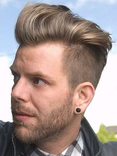 Mens Hair- I need to learn how to style this way!