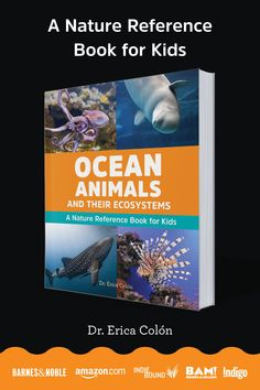 Ocean Animals and Their Ecosystems: A Nature Reference Book for Kids. Explore the ocean and meet marine animals and their ecosystems. The ocean covers 71 percent of the Earth's surface―and it's swimming with wild and beautiful marine animals. Packed with beautiful photos and interesting facts, this guide goes beyond other nature books for kids, taking you under the sea and into the homes of incredible ocean dwellers. Science Lesson Plans, Science Lessons, Science Activities, Science Biology, Earth Science, Life Science, High School Science, Elementary Science, All About Earth
