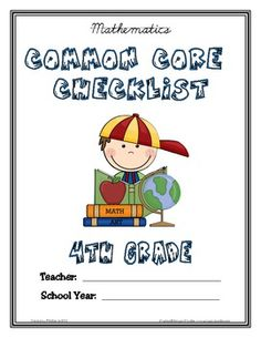 Common Core Checklist - 4th Grade - ELA & MATH image 2