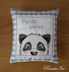 Panda alla lavanda, Schema di Rhona Norrie