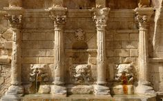 History monuments in my hometown. vol 1 The Rimondi fountain in Rethymnon (Greece) — Steemit Crete Greece, Fountain, Beautiful Places, Island, History, Interior, Painting, Cyprus, Monuments