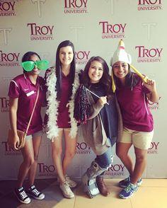 Trojan Day! #gotroy #TROYUspirit #troyuadmissions #trojanday