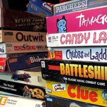 Entertain the kids with classic board games. #babysitting