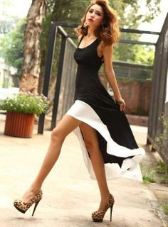 Black  white dress Love it!