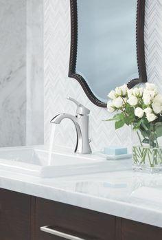 A fresh bouquet of tulips looks ly alongside a Voss ... on discontinued moen faucets, moen 4600 faucet, moen caldwell collection, moen single handle faucet repair, moen laundry faucet, moen replacement parts, moen bathtub fixtures, moen t6125, moen shower fixtures, moen bar sink, moen voss, moen handicap faucets, moen two handle lavatory faucet, moen kingsley faucet, moen faucet models, moen faucets brand, moen water faucets, moen faucet repair parts 97556, moen shower systems, moen monticello faucet repair,