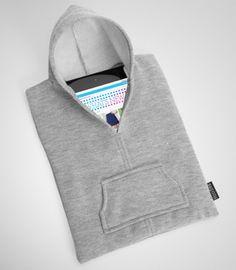 iPad Hoodie  #blucase #cases #macbook #ipad #fashion #design #style #boutique #vintage #unique #classy #accessories #urban #ladies #gentlemen