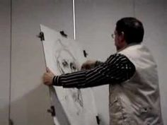 Joan Castejón dibujando