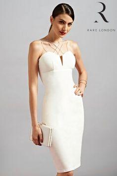 056c6c9e8d Rare Cord Detail Midi Dress £42 Bodycon Fashion