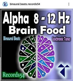 Artist 👉My Meditation Music, Isochronic Tones Waves & Isochronic Tones Sound Album 👉 Alpha 8 - 12 Hz: Brain Food 🧠 ------------------------------------------------- Creativity - Flow State - Focus - Learning - Serotonin Boost ------------------------------------------------- -Download ▶ iTunes, Amazon,Googel Play,,,,, -Play ▶ Spotify, Appel Music,Deezer,Napster,,,,, ------------------------------------------------- @binaural.beats.records54 🧠 ( Brain Wave) #bb_records54…
