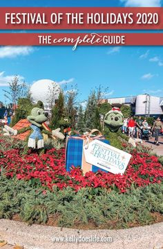 If you are going to Disney World for the holiday season you should check out a taste of the festival of the holidays at Epcot! If you are planning to go to Disney at Christmas 2020, you'll want this guide!
