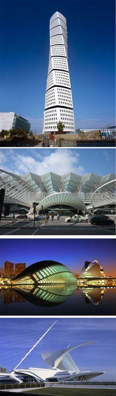 Santiago Calatrava:                                                       …