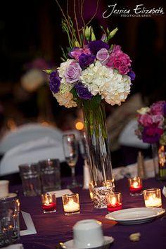 Bernardo's Flowers Inc.: Purple Wedding Centerpiece Ideas