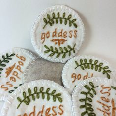 Goddess Merit Badge Patch or Pin by DeepValleyCrafts on Etsy